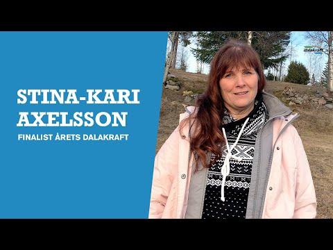 Stina Kari Axelsson - finalist Årets dalakraft
