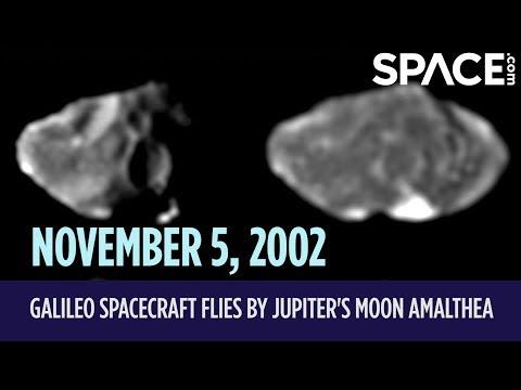 OTD in Space - Nov. 5: Galileo Spacecraft Flies by Jupiter's Moon Amalthea - UCM5gbHADdY-fFB6lsH443wQ