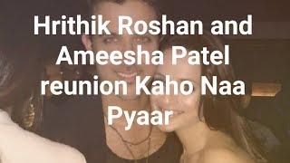 Hrithik Roshan and Ameesha Patel reunion will make Kaho Naa Pyaar Hai fans nostalgic