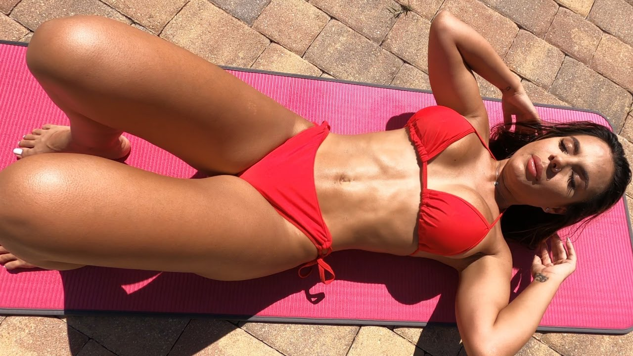 Girls Sexy Six-Pack Abs Workout