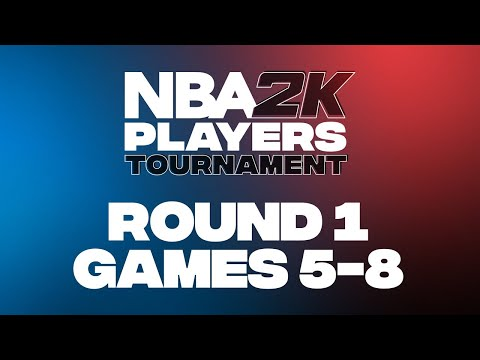 NBA 2K Players Tournament | Round 1 | Games 5-8