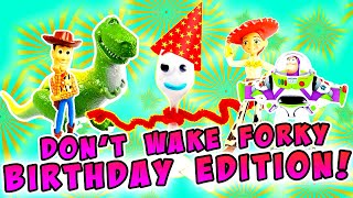 Toy Story 4 Forky S Birthday Party Decorating Game W Woody Jessie