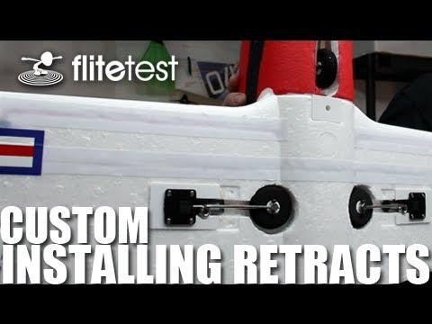 Flite Test - Custom Installing Retracts - Flite Tip - UC9zTuyWffK9ckEz1216noAw