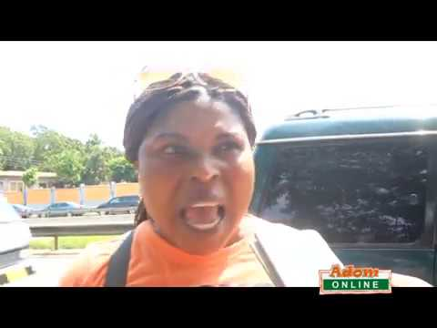 Owusu Bempah church members besige CID headquarters