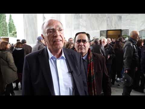 Ο Βασίλης Λεβέντης για το Νικήτα Βενιζέλο (15-2-2020)
