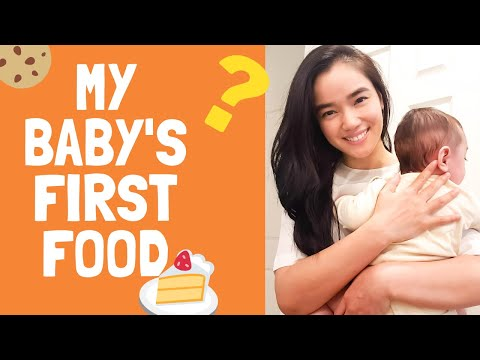 What and How I made my Baby's 1st Food