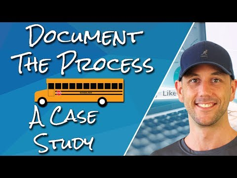 "Case Study - How ""Documenting The Process"" Can Build An Audience & Generate Revenue!"
