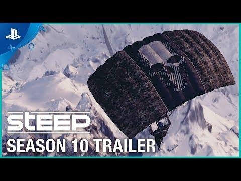 Steep - Season 10 Trailer:  Breakpoint   PS4