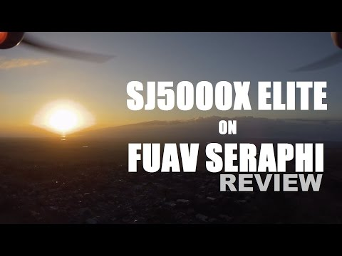 SJ5000X Elite 4k Action Cam on FUAV SERAPHI Quad Review [Sunset Flight Test] - UCVQWy-DTLpRqnuA17WZkjRQ