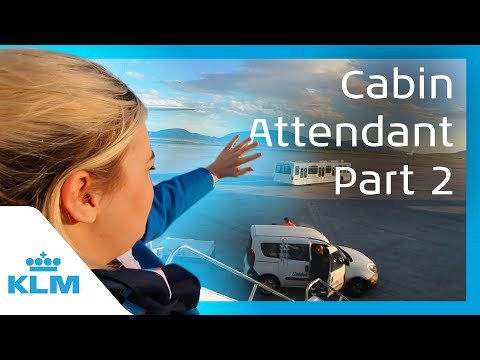 KLM Intern On A Mission - Cabin Attendant For A Day - Part 2