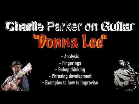 """Charlie Parker on Guitar""   Alessio Menconi Jazz Guitar Lesson"