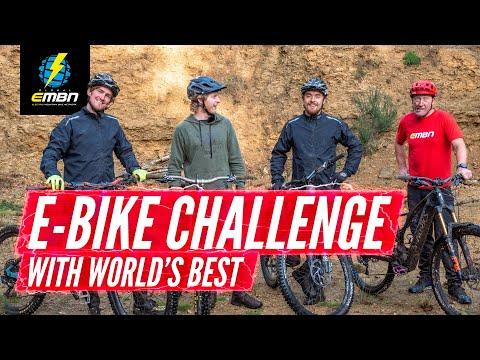 Surrey Hills E-Bike Challenge With Brendan Fairclough, Bernard Kerr & Olly Wilkins