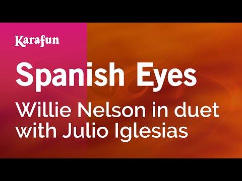 Karaoke Spanish Eyes - Willie Nelson * - UCbqcG1rdt9LMwOJN4PyGTKg