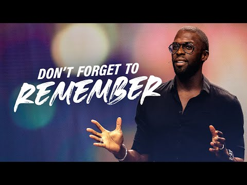 Dont Forget To Remember with Robert Madu