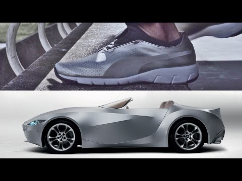 The X-CAT DISC:  The Puma shoe designed by BMW