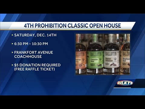 Yascone Family invites you to annual Prohibition Classic Christmas open house