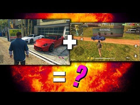 Esto Sale Cuando Juntas GTA con Free Fire xd – Peores COPIAS de GTA V