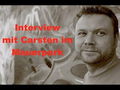 Interview und Fotoshooting mit Carsten im Mauerpark