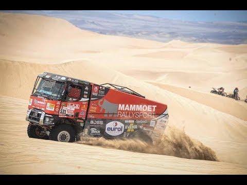 Mammoet Rallysport on full speed