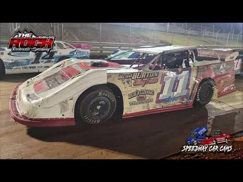 Winner #11 Jeff Watson - Crate Late Model - 10-16-21 Rockcastle Speedway - InCar Camera - dirt track racing video image