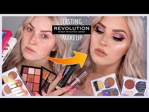 FULL FACE of Makeup Revolution! ?? CHEAP and AFFORDABLE!