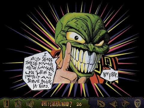 The Mask: The Origin (Who's Laughing Now?) (Metrolight Studios, Cyber Comics) (Windows 3.x) [1994]