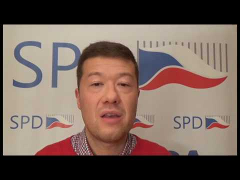 Tomio Okamura: Sankce proti ČR