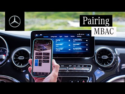 The Marco Polo | Pairing the Mercedes-Benz Advanced Control App