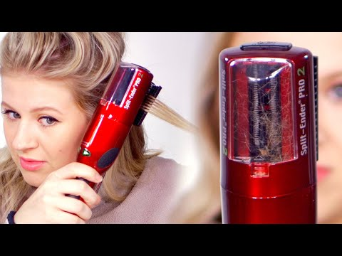 Automatic Split End Trimmer… Does it work?!