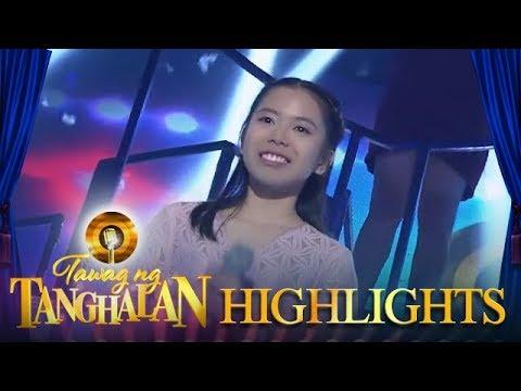 Tawag ng Tanghalan: Daily winner Trisha Estrella steals the Golden Microphone!