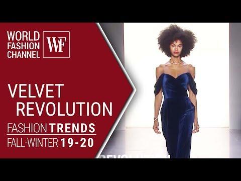 VELVET REVOLUTION | FASHION TRENDS FALL-WINTER 19-20