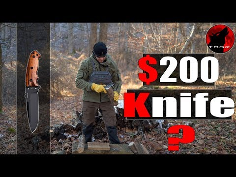 """🔪 How Does a $200 Knife Perform? - Hogue EX-F01 5.5"""" Knife - Field Test"""