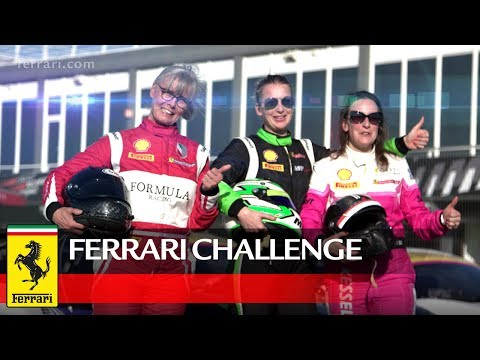 Ferrari Challenge Europe - A Ladies Affair