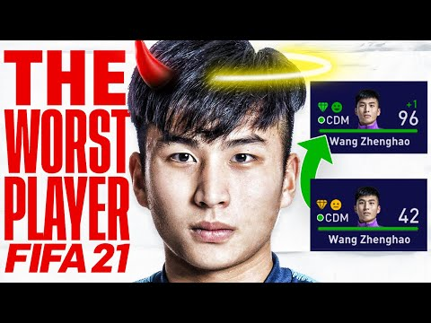CAN I GROW THE WORST PLAYER IN CAREER MODE INTO A GOD? FIFA 21 EXPERIMENT