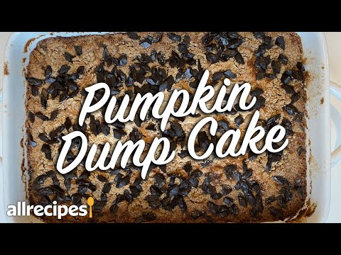 How to make the BEST Fall Pumpkin Dump Cake | Easy Fall Dump Cake Recipe | Allrecipes.com