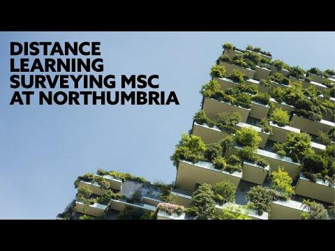 Distance Learning Surveying MSc at Northumbria University