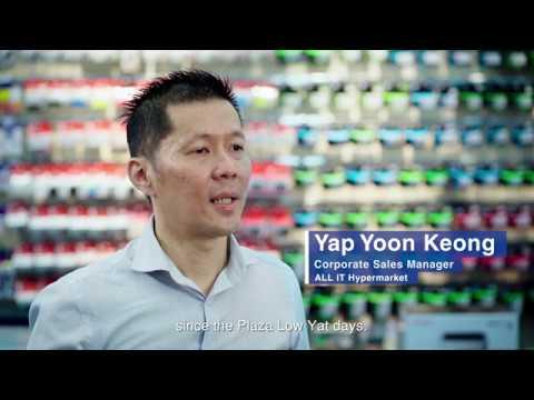 Epson EcoTank Monochrome Printers: ALL IT Hypermarket customer story (English subtitle)