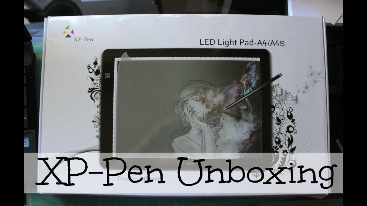XP-Pen A4S LED Light Pad | Unboxing