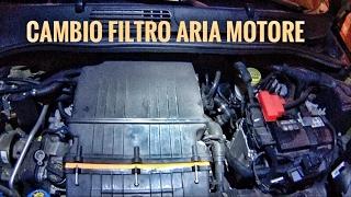 Cambio filtro aria motore Panda 1.2-Fiat 319