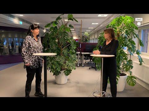Kristina Sundin Jonsson informerar om det aktuella läget, onsdag 25 november