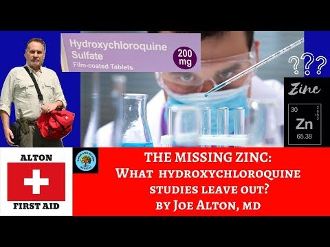 The Missing Zinc: Recent Hydroxychloroquine Studies by Dr. Alton