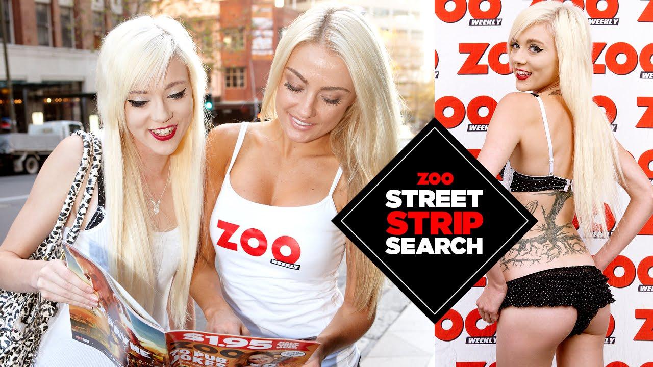 ZOO Street Strip Search – Ginni, 20, Sydney, HD