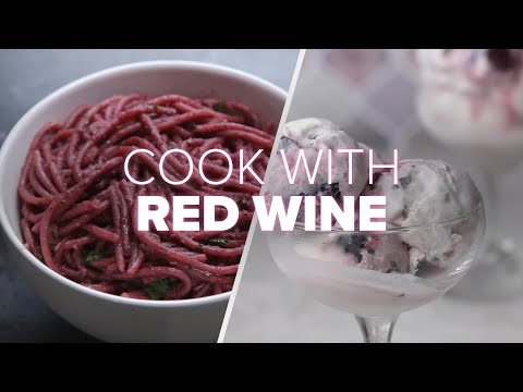 How To Cook With Red Wine ? Tasty Recipes