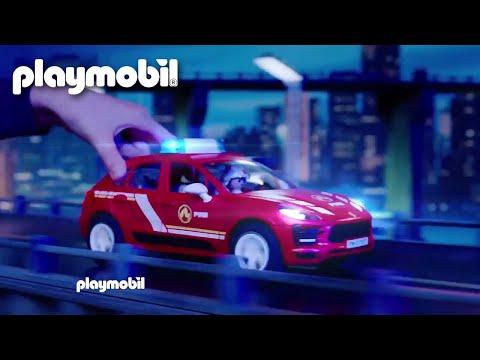 Porsche Marcan S Feuerwehr & Porsche Carrera 4S Polizei | TV Spot | PLAYMOBIL