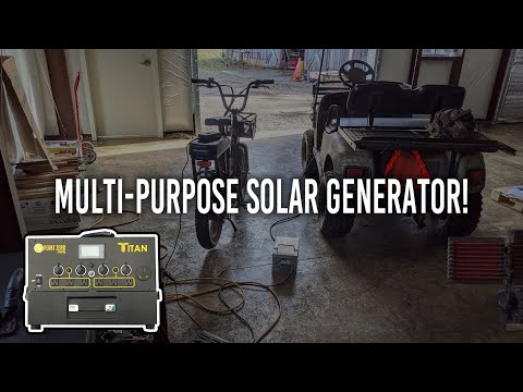 Putting The TITAN Solar Generator To The Test!