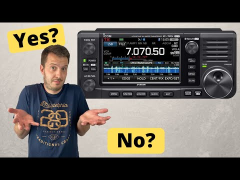 Should You Buy an Icom IC-705?