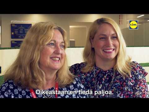 Lidliläiset ottivat äitinsä mukaan töihin pääkonttoriimme Lidl Houseen äitienpäivän kunniaksi. Kuinka hyvin äidit tietävät, mitä heidän lapsensa tekevät työkseen? #äitimukaantöihin #meidänlidl  Tilaa kanava –  Joka viikko maukkaita ruokavideoita ja vinkkejä: http://www.youtube.com/subscription_center?add_user=lidlsuomi  Tykkää meistä Facebookissa: http://www.facebook.com/lidlsuomi Katso uutuudet ja tarjoukset sivuiltamme: http://www.lidl.fi/ Selaa reseptipankkiamme: http://www.lidl-reseptit.fi/