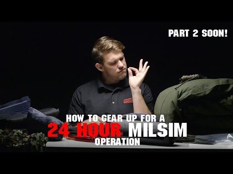 How To Gear Up For A 24 Hour MilSim Game | Part 2 Coming soon! | Camping Gear! AIRSOFTGI.COM