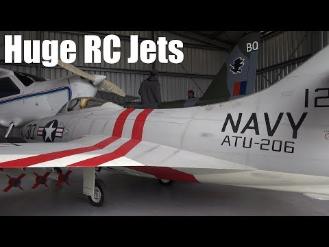 Huge jet-powered RC plane, stormy maiden flight - UCQ2sg7vS7JkxKwtZuFZzn-g