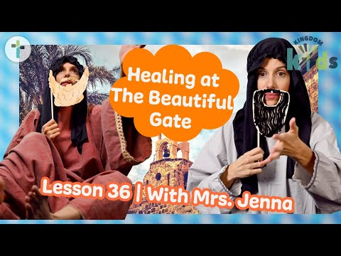 Healing at The Beautiful Gate  Sojourn Kingdom Kid's  Sunday Morning Lesson  Sojourn Church
